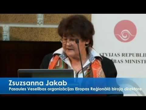 """PVO Eiropas Reģionālā biroja direktore piedalās konferences """"Veselība izaugsmei"""" atklāšanā."""