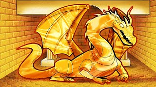 ONLY 1 GOLD Dragon remains ALIVE! (Minecraft Dragons)