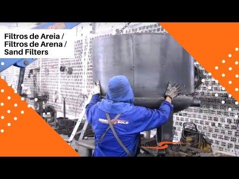 Filtros de Arena - Hidro Solo - Fabricación