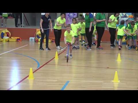 Suwałki. Olimpiada przedszkolaków z Polski i Litwy