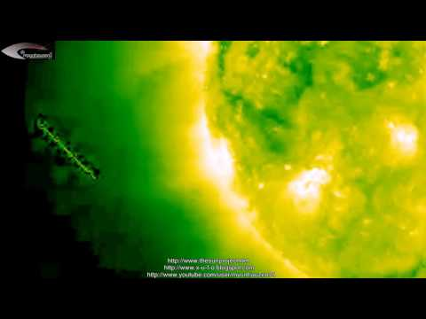 UFOs and anomalies in the Solar space – March 12, 2013 (© NASA)