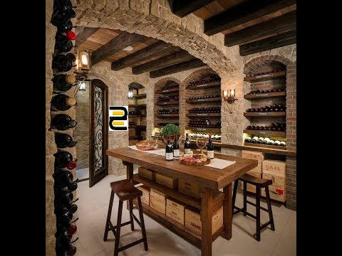 Stunning ideas for wine room cellar arrangement in your home