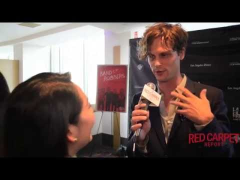 Matthew Gray Gubler Interviewed at Band of Robbers World Premiere at LA Film Festival #LAFF