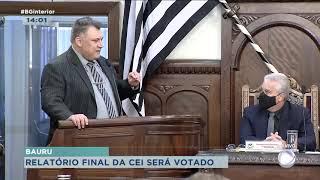 CEI da Covid: relatório final será votado em sessão na Câmara Municipal