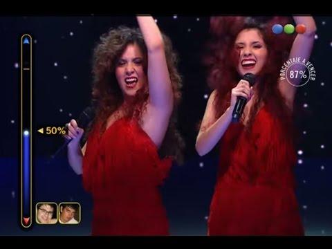 """Duelo: Melanie y Ailín Agostini cantan """"Devorame otra vez"""" – Elegidos #Elegidos"""