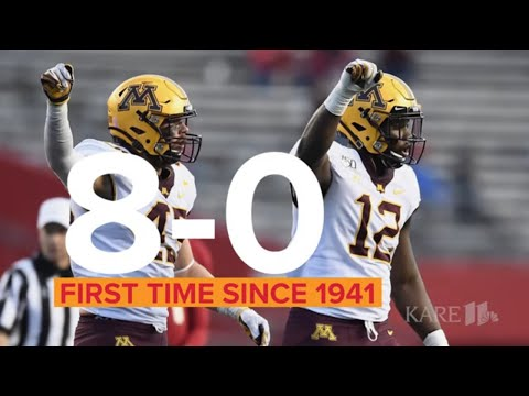 Gophers by the Numbers