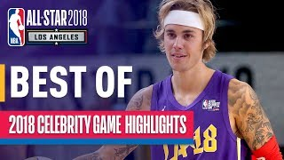 2018 nba celebrity game highlights  presented by ruffles