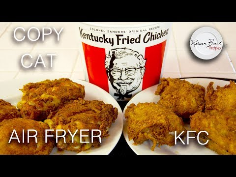 Kentucky Fried Chicken Recipe | Omorc Air Fryer - No Oil | Secret 11 Spices HERE
