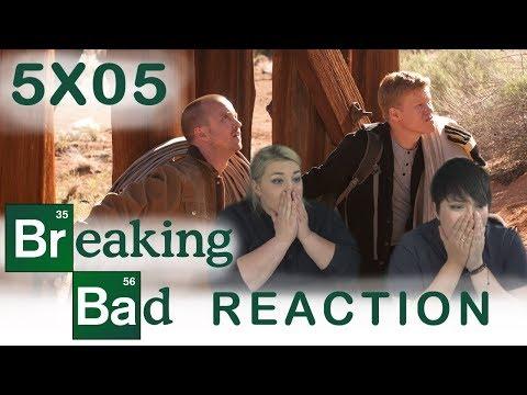 Breaking Bad 5X05 DEAD FREIGHT reaction