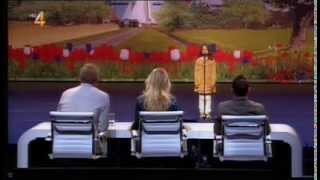 Holland's Got Talent 2013 Amira Willighagen 9 Jaar