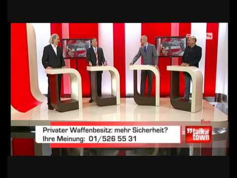 Part 2: Diskussion mit Dr. Georg Zakrajsek 17.11.09 zum Thema Waffenbesitz