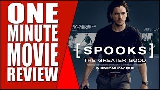 Nonton MI: 5 - Spooks: The Greater Good - One Minute Movie Review Film Subtitle Indonesia Streaming Movie Download
