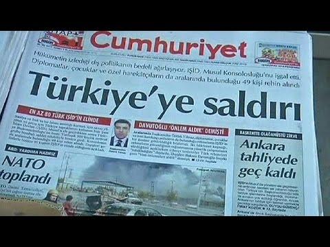 La Turquie se bat pour libérer ses 80 otages en Irak