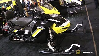 3. 2018 Ski Doo MXZ Blizzard 850 E-Tec Sled - Walkaround - 2017 Toronto Snowmobile Show