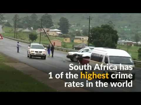 Gunmen kill five police officers in South Africa