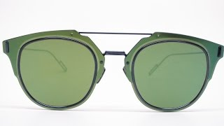 Buy them here : https://goo.gl/MYq2siClose up look at the Dior Composit 1.0 A2JAF sunglasses in color A2JAF, blue lucido with brown with green mirrored lenses.Connect with usWebsite :  www.eyeheartshades.comFacebook : https://www.facebook.com/eyeheartshadesTwitter : https://twitter.com/eyeheartshadesInstagram : https://www.instagram.com/eyeheartshades/Pinterest : https://www.pinterest.com/eyeheartshades/Google Plus : https://plus.google.com/+EyeHeartShades/posts