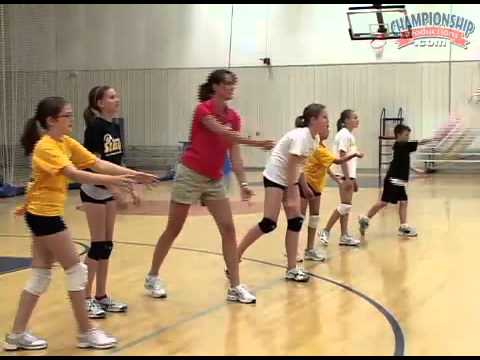underhand - Listen to excellent advice from former UW-Milwaukee ('93 -`06) Head Volleyball Coach, Kathy Litzau. Here she uses skill progressions for teaching and develop...