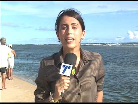[JORNAL DA TRIBUNA] Família é vítima de afogamento na praia de Barra de Jangada