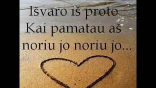 Download Lagu Gerda - Noriu jo ( lyrics) Mp3