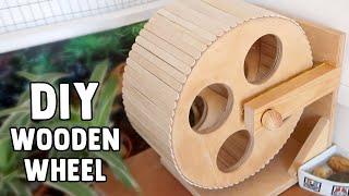 DIY Wooden Hamster Wheel Tutorial   #DIYJuly 19 by ErinsAnimals