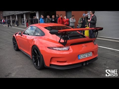 porsche 991 gt3 rs - hot lap