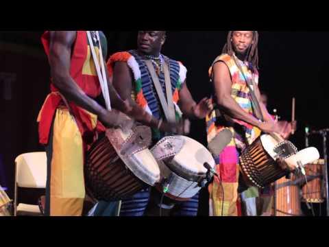 Jalikunda African Drums take the Montserrat African Music Festival by storm