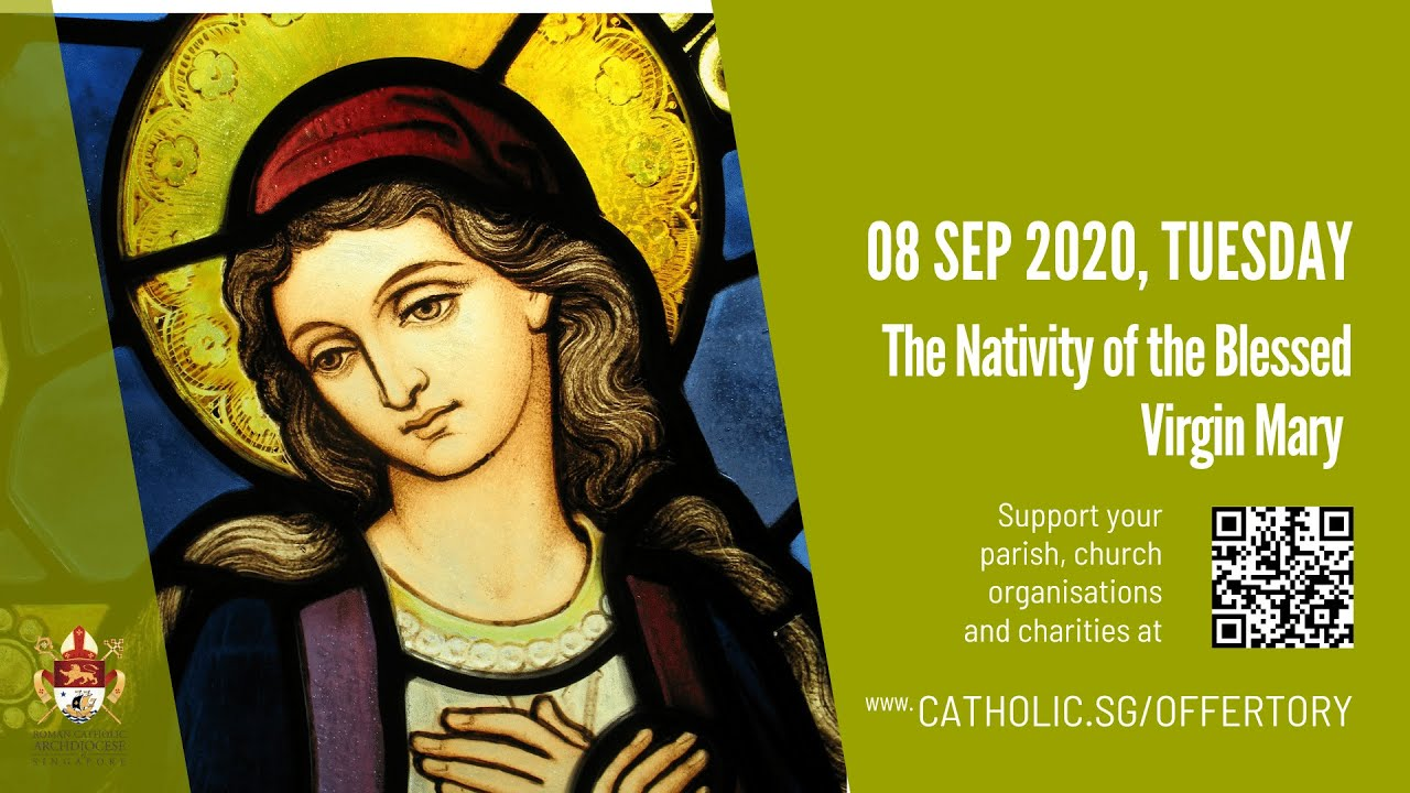 Catholic Mass 8th September 2020 Today Tuesday Online