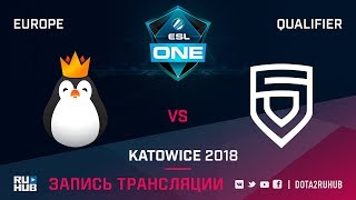 Team Kinguin vs PENTA, ESL One Katowice EU, game 1 [Adekvat, Smile]