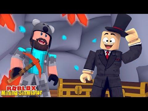 SIR MINES A LOT EVENT QUESTS!!  Mining Simulator  ROBLOX