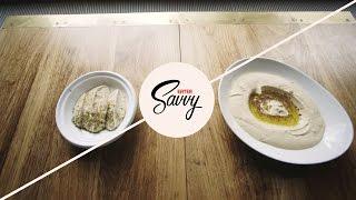 How To Make Hummus And Baba Ghanoush - Savvy Ep. 7