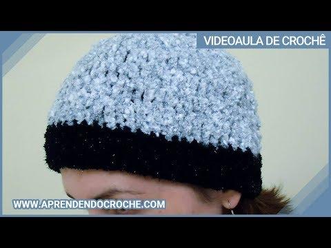 Gorro de Croche Fátima Bernardes - Versão Crochê