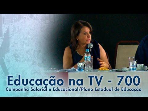 Campanha Salarial e Educacional / Plano Estadual de Educação