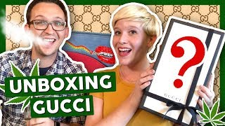First Time Unboxing GUCCI 💎| HIGH FASHION by That High Couple
