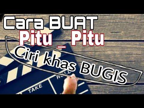 Cara Bembuat Pitu - Pitu Ciri khas Sulawesi