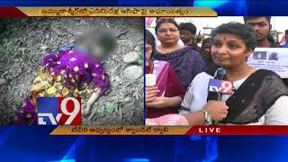 Video Unnao & Kathua rapes - TV9 holds candle rally in Hyderabad MP3, 3GP, MP4, WEBM, AVI, FLV April 2018