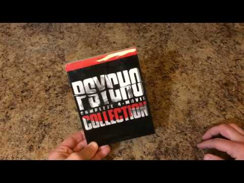 Psycho 4 Movie Collection Blu Ray