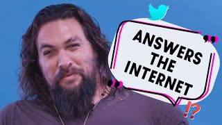 'Sorry motherf***er, it's my superpower': Jason Momoa answers the Internet's rhetorical questions!
