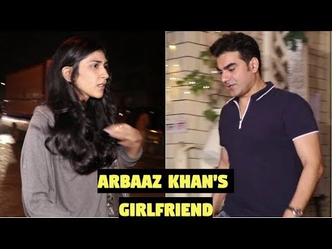 Arbaaz Khan & His Girlfriend Spotted At Bandra