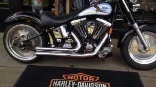 9. 1996 HARLEY-DAVIDSON SOFTAIL FATBOY FLSTF @ West Coast Harley-Davidson, Glasgow, Scotland