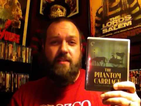 Movie Review: THE PHANTOM CARRIAGE (1921) Criterion Blu-Ray!