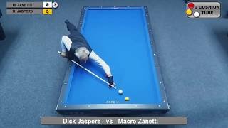 Video Marco Zanetti vs Dick Jaspers - Billiard 3 Cushion World Games 2017 MP3, 3GP, MP4, WEBM, AVI, FLV Februari 2019