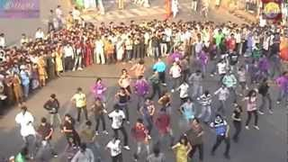Jagadamba Flash Mob-Vizag Go Global Celebrations!!