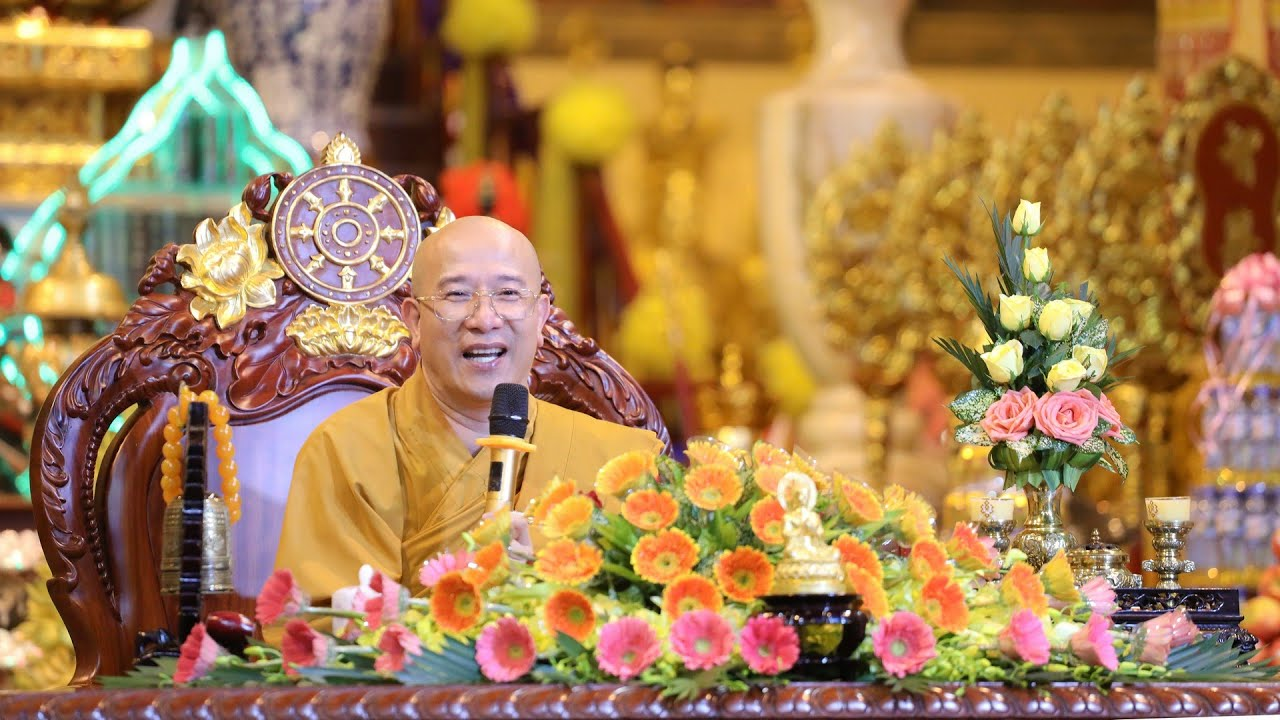 Lời giáo huấn Phật tử của Sư Phụ Thích Trúc Thái Minh nhân mùa Vu Lan báo hiếu năm 2019