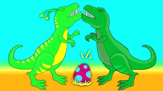 Video Groovy The Martian transforms into a t-rex dinosaur to save a dinosaur egg that is in danger! MP3, 3GP, MP4, WEBM, AVI, FLV September 2018