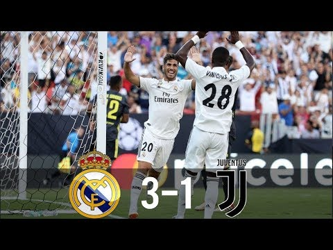 Real Madrid Vs Juventus 3-1 - All Goals & Highlights - Friendly 05082018 HD