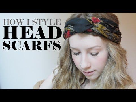 How I Style Headscarfs