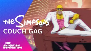 The Simpsons – Retro 80s Couch Gag