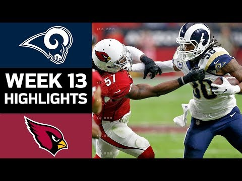 Video: Rams vs. Cardinals | NFL Week 13 Game Highlights