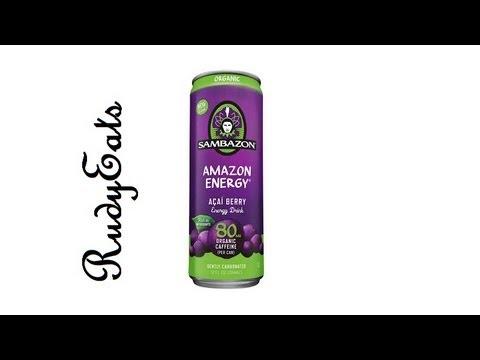 Sambazon Amazon Energy Drink Review Organic Acai Berry – RudyEats