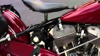 8. 1941 indian Chief motorcycle  whilst idling